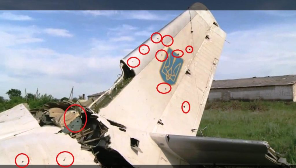 Ukraine's passenger plane was shot by a MANPAD? 6